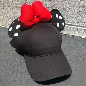 Women's Minnie Polka Dot Ears & Bow Hat Disney